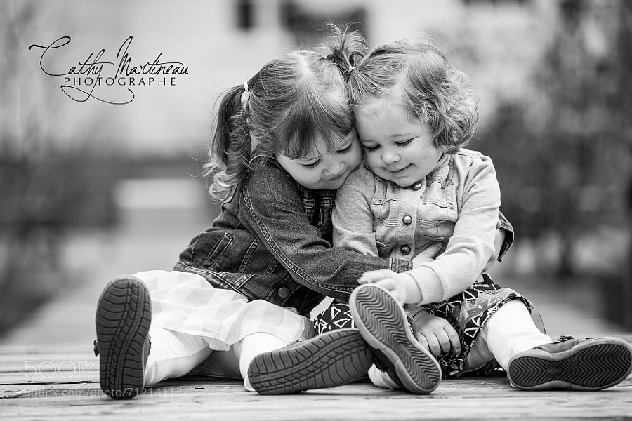 Photograph Sister love by Cathy Martineau on 500px