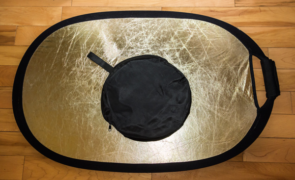 Collapsible Reflector 36x24 GoldSilver