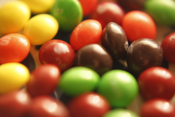 candy, closeup, color, skittles