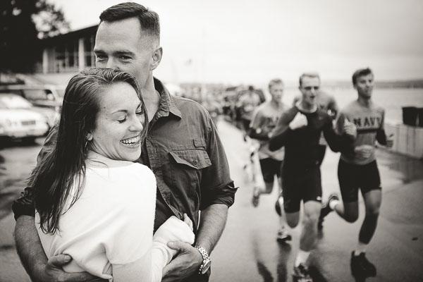 Naval Academy Runners Romance