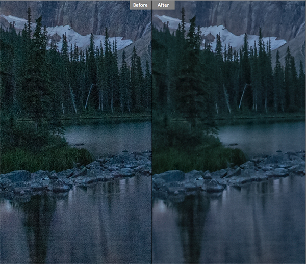 Reducing noise in your images can make a huge difference to their quality
