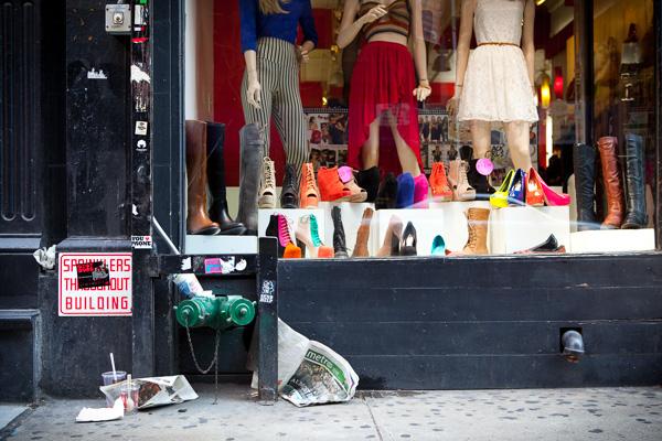 Shoe Store, SoHo.