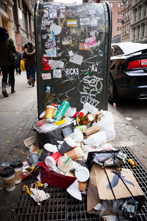 Trash, SoHo.