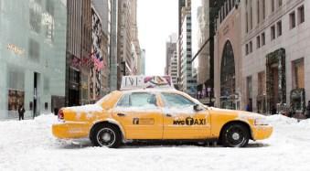 Broken Taxi, 5th Avenue.