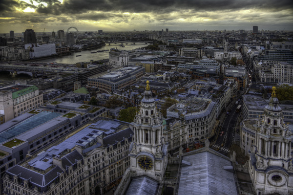 London from top of St. Paul's