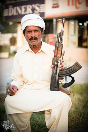 Sadeeq Guard With Gun