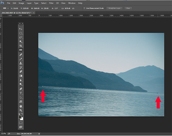 The No-Fuss Way to Straighten Your Horizons in Photoshop