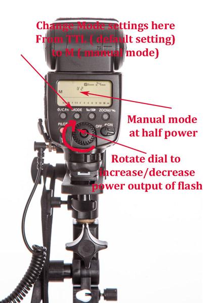 dialing in flash settings