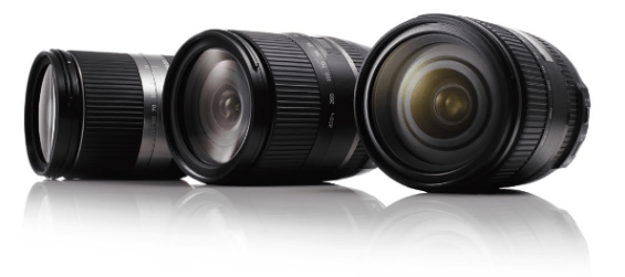 Tamron Lenses for Front Contest Graphic