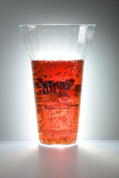 backlit root beer