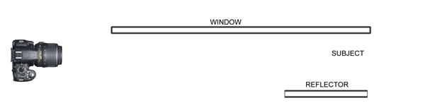 6 window lighting diagam