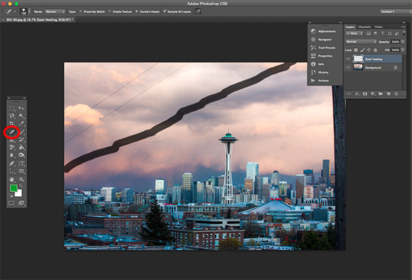 5 basic photoshop tools for photographers