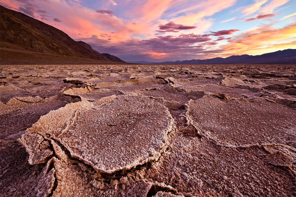 Badwater Basin at a scorching 113?F.