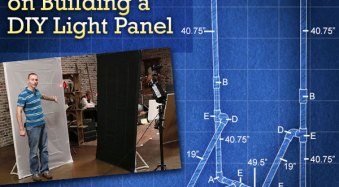 How to Make a DIY Light Panel or Scrim