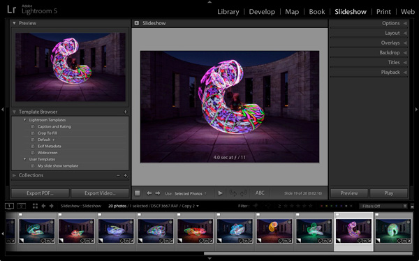 How to Create a Simple Slideshow in Lightroom