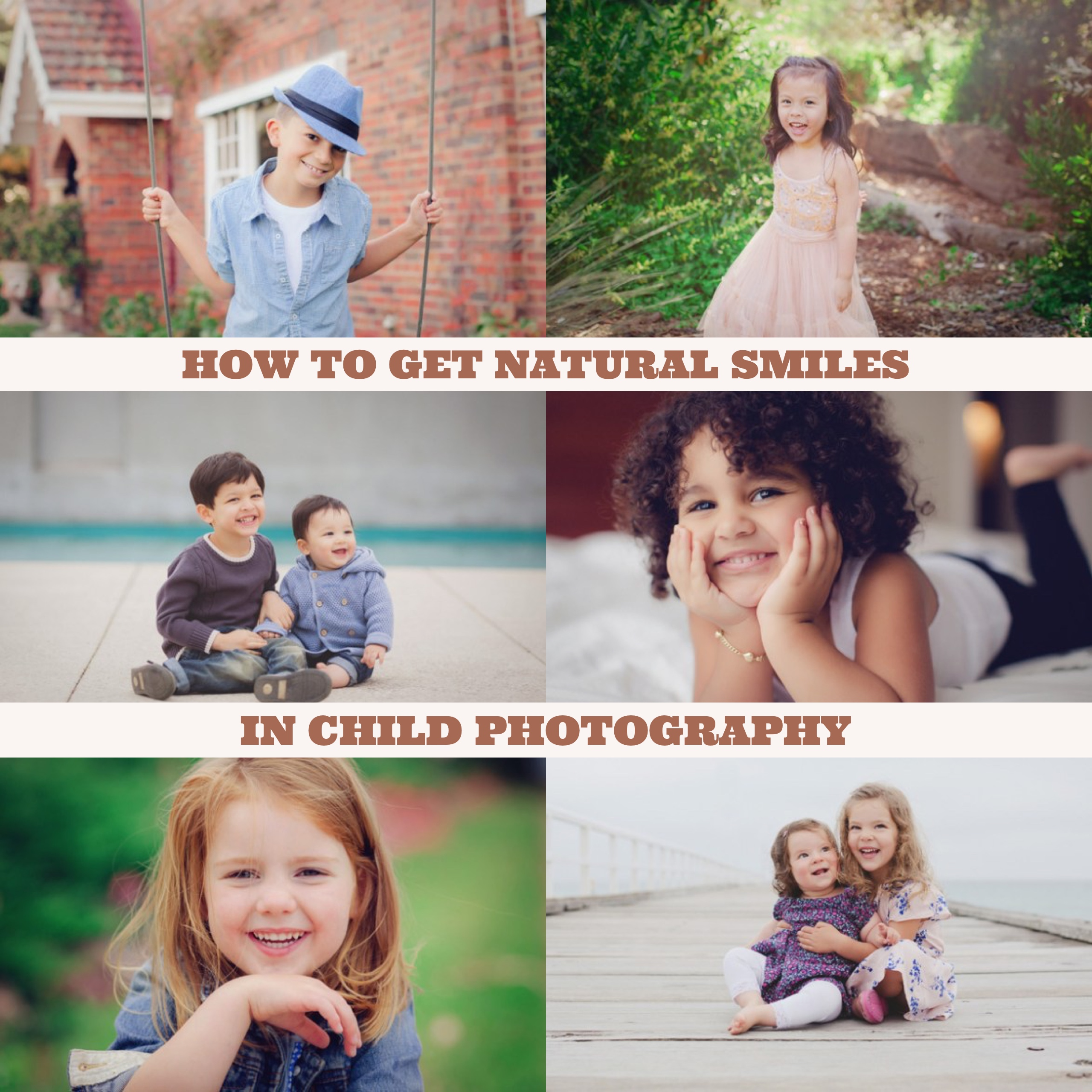 How to Get More Natural Smiles in Child Photography