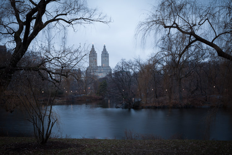 Image: The Lake, Central Park – NYC