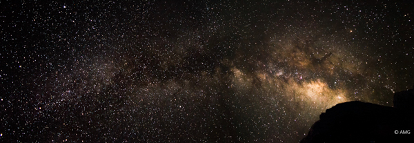 Panorama Stitch of 4 shots of the night sky