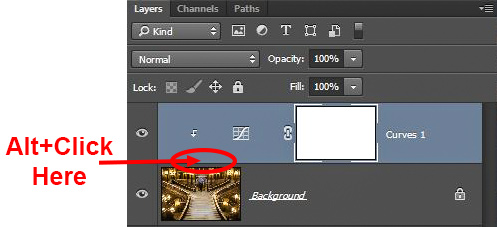 Clone Stamp Tool - tying adjustment layers