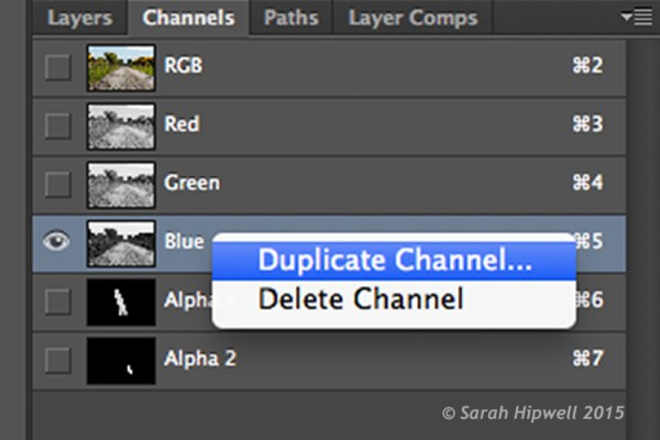 Duplicate-channel-panel