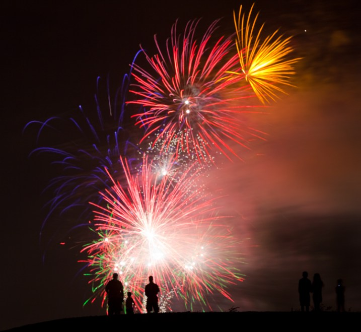 Night Photographer's Toolkit - fireworks picture