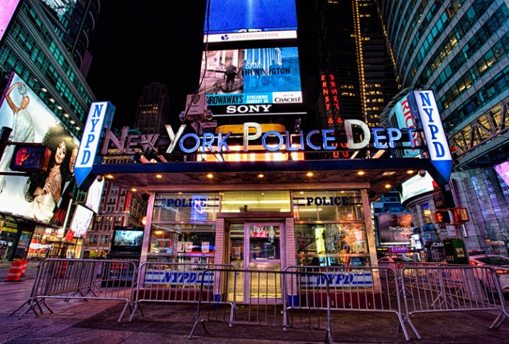 Great Subjects for Urban Night Photography - Times Square neon example