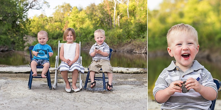 Kids chairs water summer