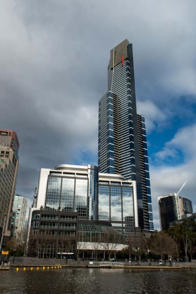 Eureka Tower image for time lapse