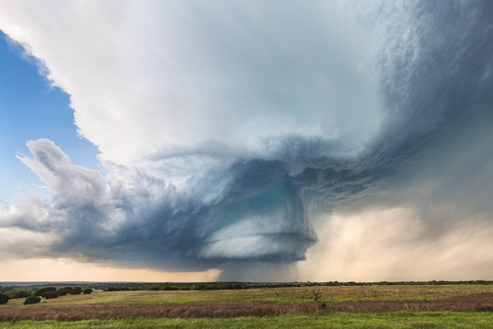 © Kelly DeLay. Hico, TX Supercell