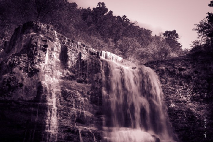 Sepia Waterfall (2)