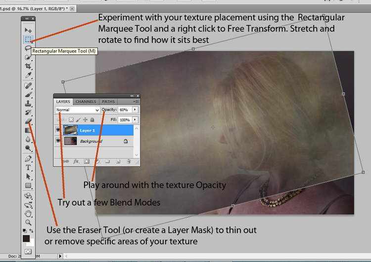 Beginners Guide to Creating and Applying Texture Overlays