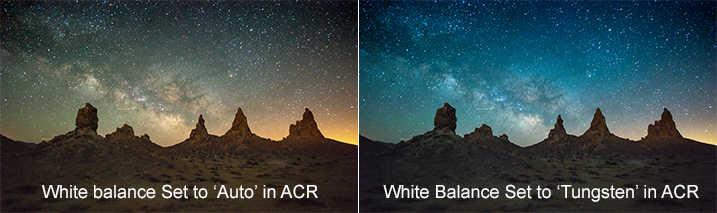 White Balance Settings for Milky Way Photography