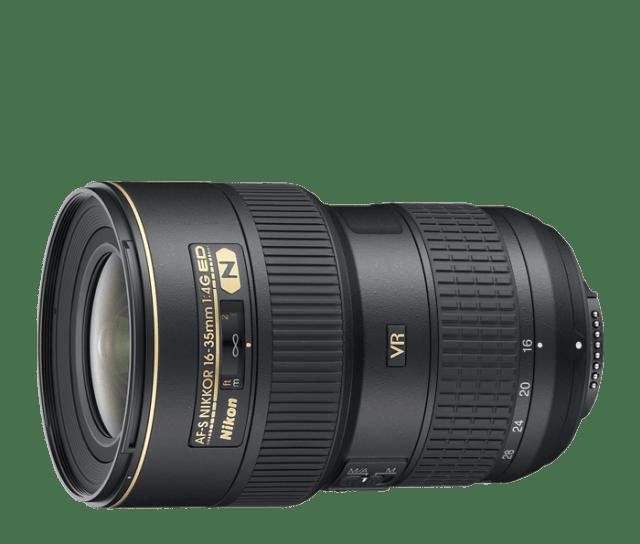 AF Nikkor 16-35mm f/4G ED VR II, my favorite lens