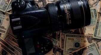 Expensive camera equipment