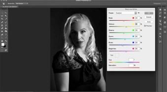 How to Create a Hollywood Film Noir Portrait