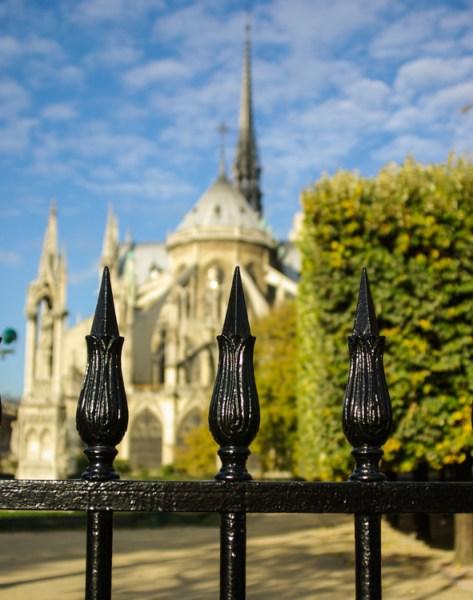 Notre Dame Paris shot with a Tamron 28-200 lens