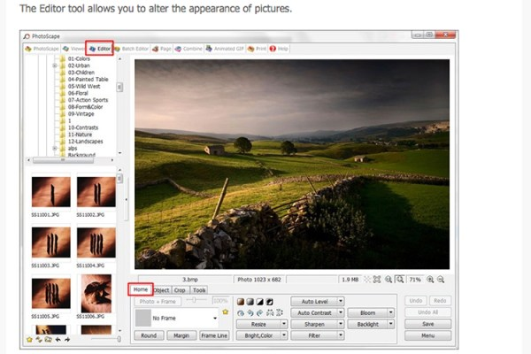 Editor-tool-in-Photoscape