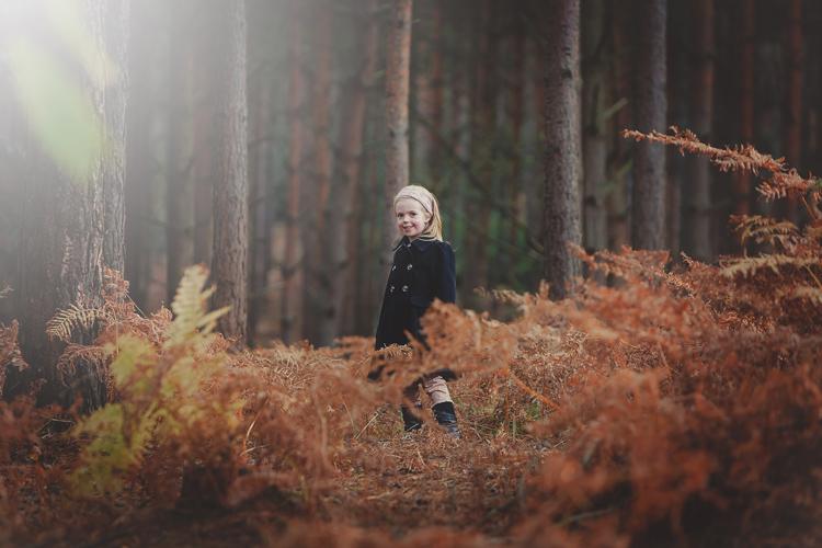 a misty autumn portrait