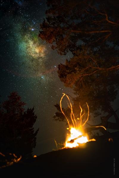 Milky Way Fire