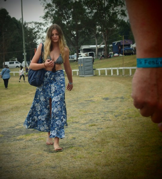 Any gear will do for photographing a festival, even your mobile phone.