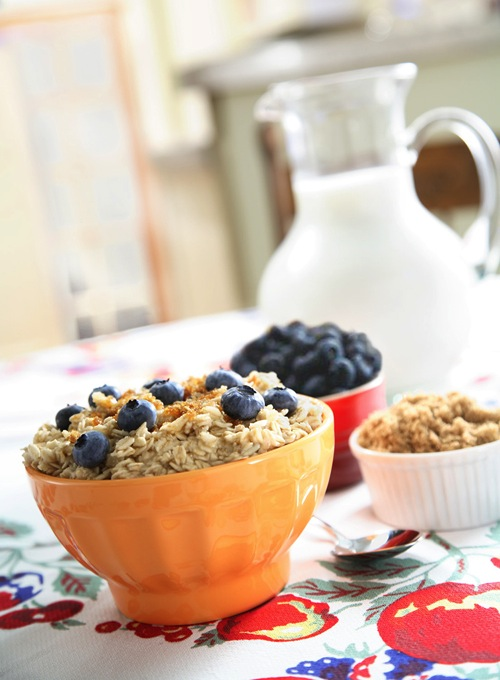 Breakfast oatmeal soft light example craig wagner