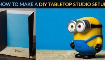 How to Make a DIY Tabletop Studio Setup
