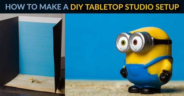 How to Make a DIY Tabletop Studio Setup