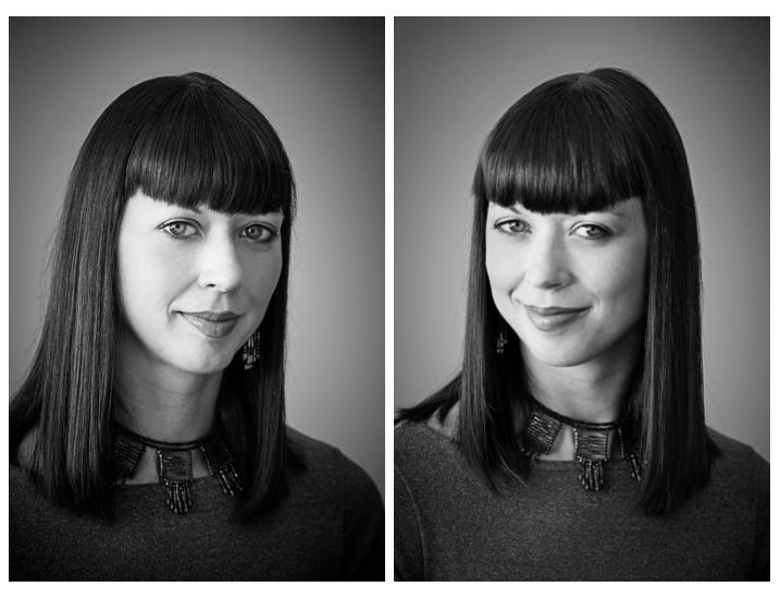Portrait tips lighting ratios