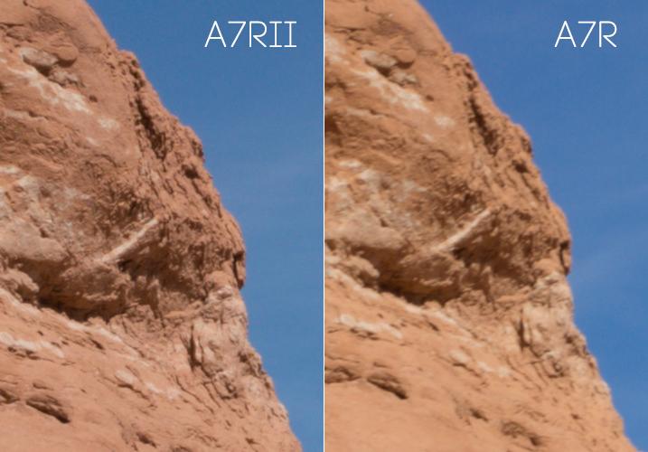 Sony A7RII Sharpness test