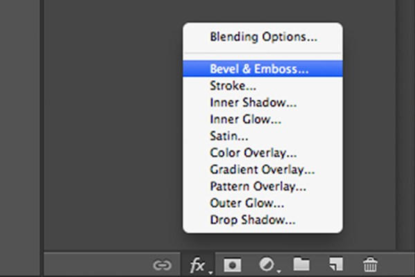 Bevel-and-Emboss-layer-style