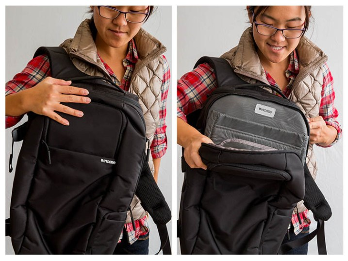 Incase DSLR laptop backpack