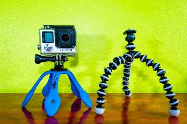 the splat beside a gorillapod
