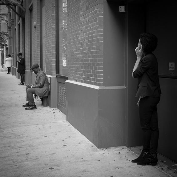 Cellphones, Nolita, NYC.