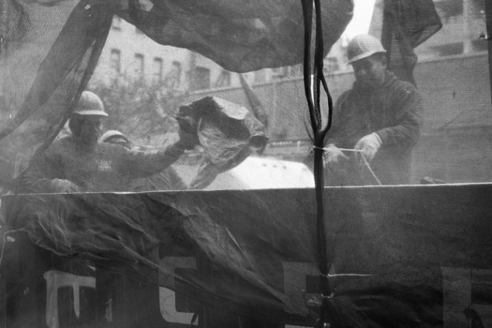 Construction Workers, Lower East Side, NYC.